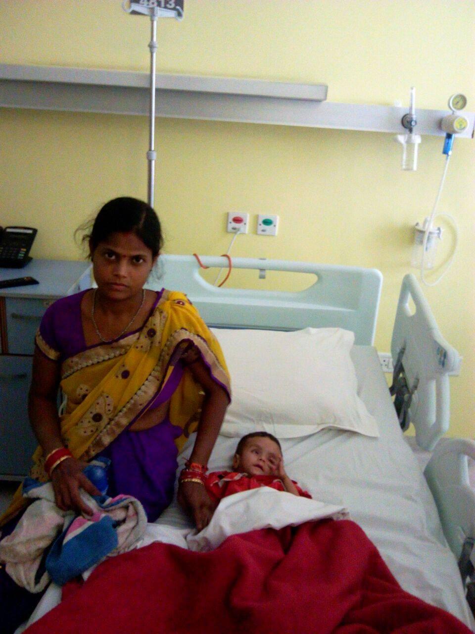 Help give Santushti a new life