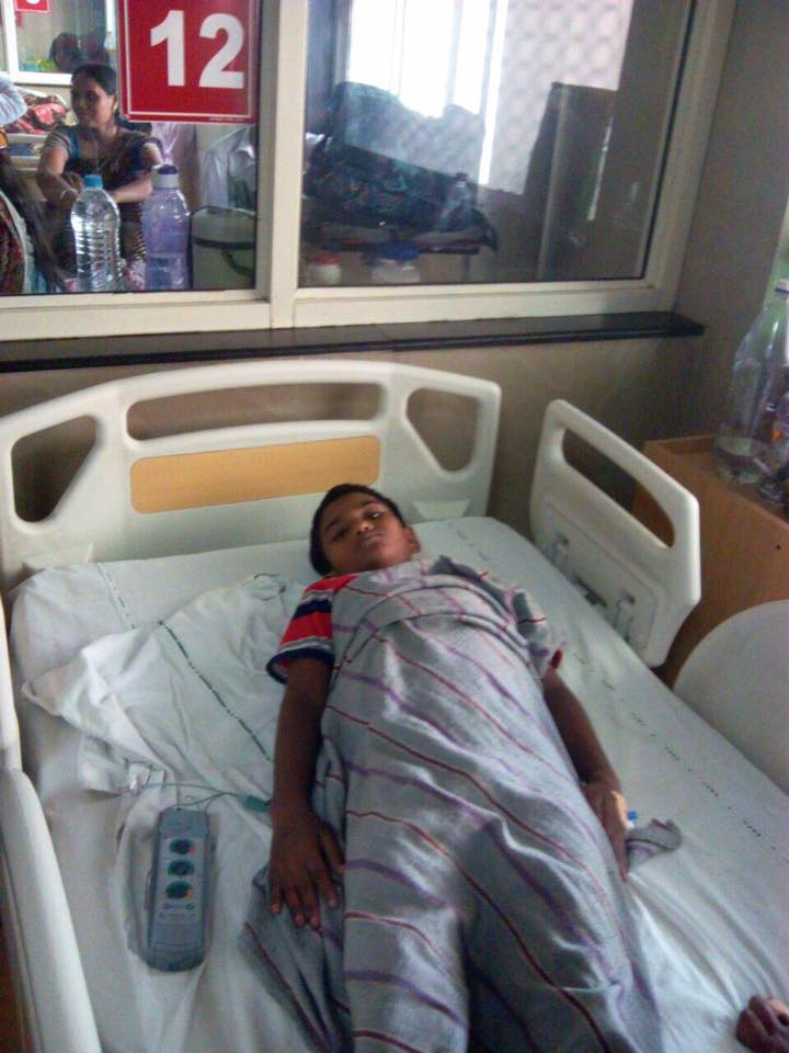 Nakul's open heart surgery!
