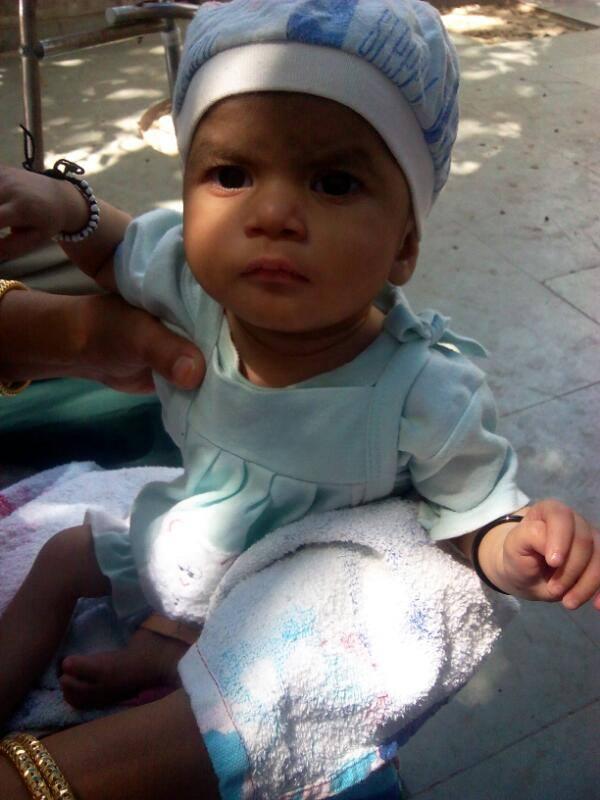 Baby Aayaat needs your help
