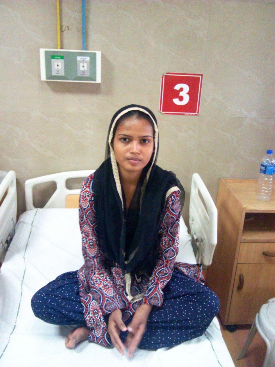 Keep Imrana in your prayers