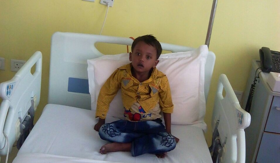 Pray For Little Chintu