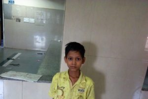 Pray for little Ashish