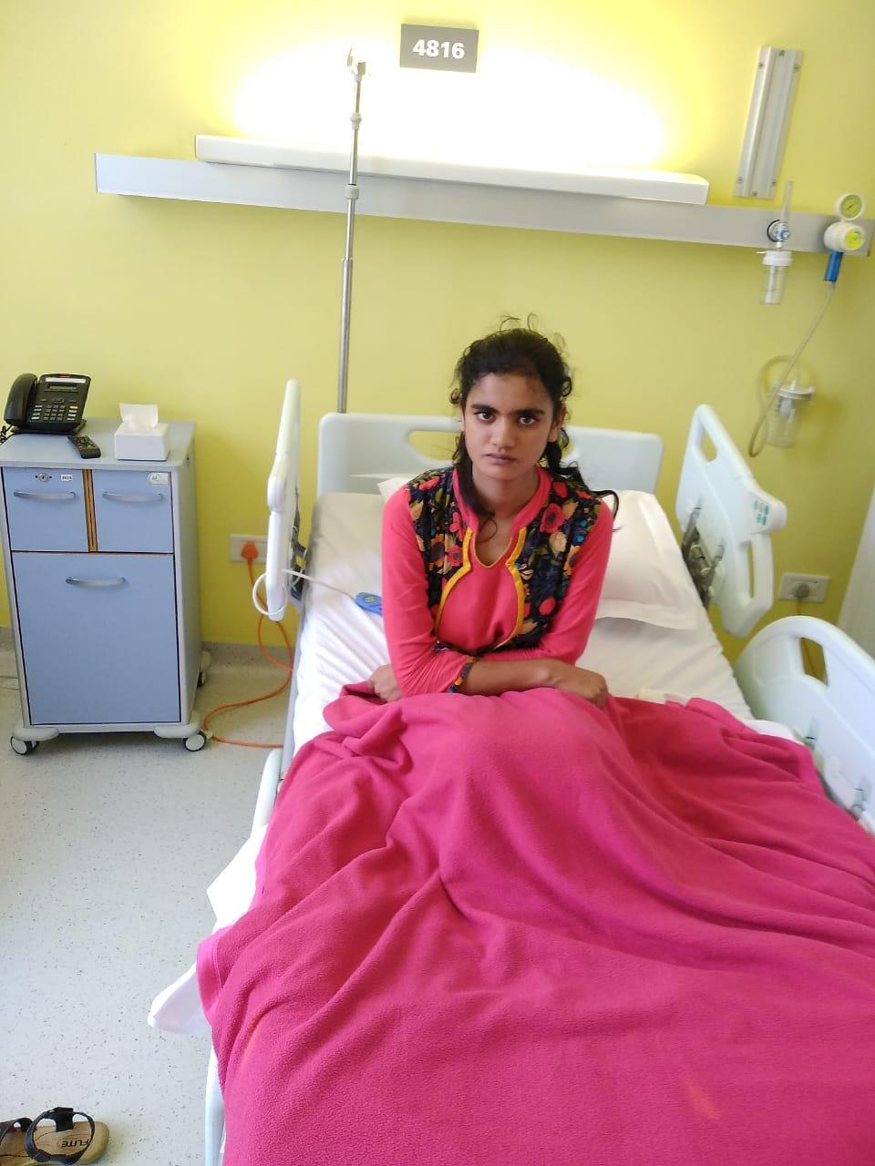 Nasreena needs a Tof Surgery
