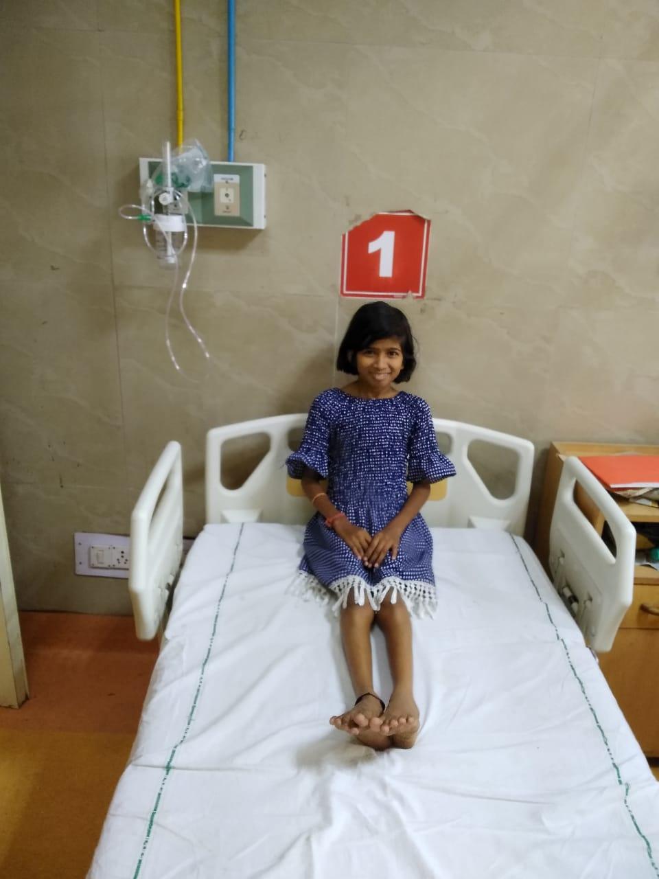 PDA Surgery of Anjali
