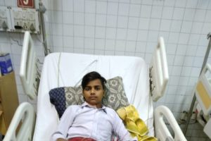 13 years old Himanshu needs a CTVS Surgery