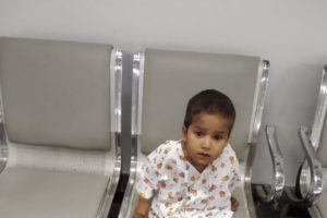 baby sajjad needs a tof surgery