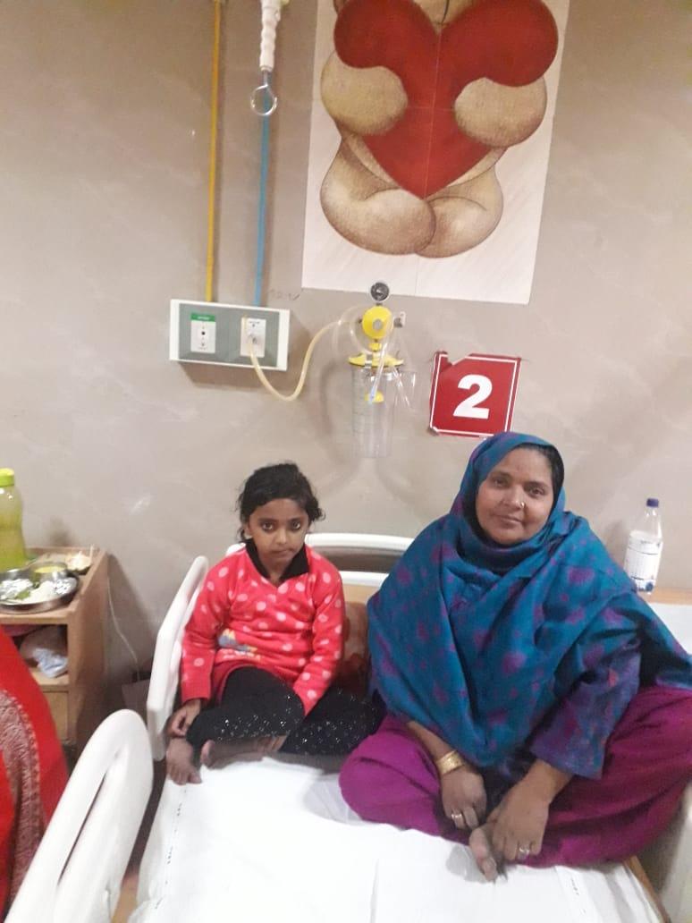 Nargis's PDA Surgery